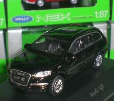 WELLY NEX MODELS VOITURE JEEP AUDI Q7 DIECAST PC BOX ECHELLE 1:87 HO NEUF OVP
