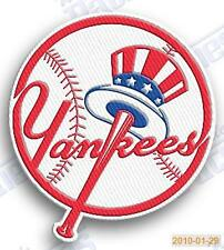 new york yankees ny  iron on embroidered embroidery patch baseball  logo mlb