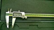 8-Inch Digital Caliper with Fractional Display/MM/SAE & Extra Large
