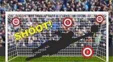 Football Goal-Soccer Practice Net - Boys or Girls Bedroom - wall Sticker No.237