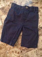 baby boys RALPH LAUREN DRESS PANTS navy blue FANCY polo chinos MODERN 3 months