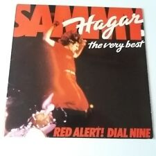 Sammy Hagar - Red Alert! Dial Nine The Very Best Of Vinyl LP UK 1st 1982 EX+/NM