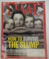 Time Magazine How To Survive The Slump January 2001 WITH ML 042015R