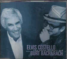 Elvis Costello with Burt Bacharach-This House Is Empty Now cd maxi single