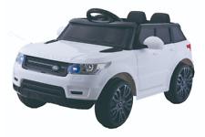 12V Style Range Rover Blanche – Voiture Electrique Pour Enfants