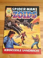 Spiderman And Zoids Magazine # 33