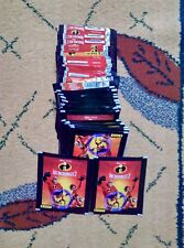 Panini INCREDIBLES 2 Stickers 100 Packs sachets   500 stickers