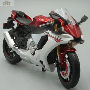1:12 F-Yamaha YZF R1 Sports Racing Diecast Toy Model Super Bike Collection Gift