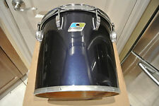 "1980 LUDWIG NAVY BLUE IMRON / BLACK CORTEX 12"" CONCERT TOM to YOUR DRUM SET A378"