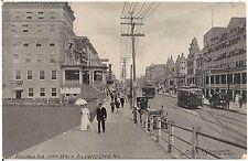 Virginia Avenue From Beach in Atlantic City Nj Postcard 1910