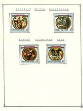 GUINEA EQUATORIAL  Amazing Collection V.F. Used Stamps Hinged  list  Easter 1973