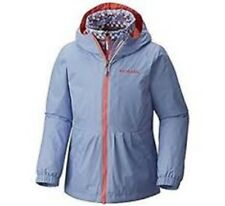 NWT Large Columbia Girls Youth A-Bombinable Interchange Jacket Empress FREE SHIP