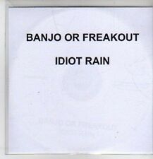 (CO556) Banjo Or Freakout, Idiot Rain - 2010 DJ CD
