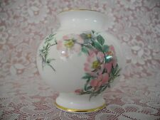 """Caverswall  """"Country Diary Collection"""" Richard Webb LTD 1977 Vase Approx. 5""""x 5"""""""