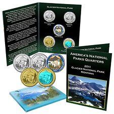 National Park Quarter Set - Glacier National Park Montana