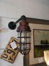 Vintage Industrial Hazard Light - Man Cave Indicator - Lighting Design - Killark