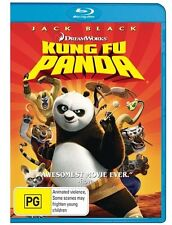 Kung Fu Panda - New/Sealed Blu Ray Region B