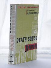 Jack Gerson - Death Squad London 1st Edition 1989
