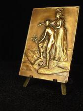 Médaille Hermès & Athéna Pont transbordeur de Nantes par Ch Pillet Medal  铜牌