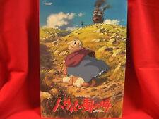 "Studio Ghibli movie ""Howl's Moving Castle"" memorial art book"