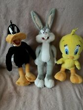 Looney Tunes Play By Play Daffy Duck, Bugs Bunny And Tweetie Pie From 2000