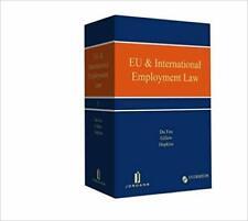 EU & International Employment Law (English) Loose leaf in binder