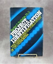 Rare HC/DJ PROJECT IDENTIFICATION UFO Phenomena Studies Book by Harley Rutledge