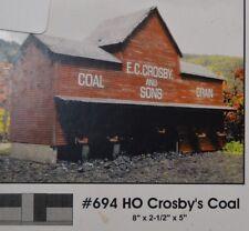 Branchline Trains Laser-Art #694 Croby's Coal - NIB