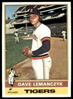 1976 Topps Dave Lemanczyk Detroit Tigers #409