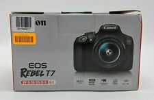 Open Box Canon EOS Rebel T7 24.1MP Digital SLR Camera Kit with 18-55 Lens SB1844