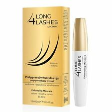 Long 4 Lashes Eyelash Growth Enhancing Black Mascara With Biotin 10ml Oceanic AA