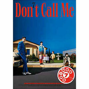 SHINEE [DON'T CALL ME] 7th Album PHOTO BOOK Ver FAKE CD+POSTER+Book+3 Card+Film