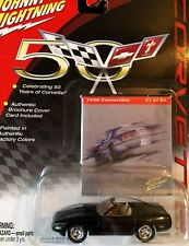 50th Anniversary- 1996 Corvette Convert Johnny Lightning 1:64 Die-Cast #41 of 50