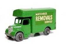 Matchbox Lesney No.17a Bedford O Type Removals Van (METAL WHEELS, CODE 9, VGC!)