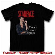 Scarface-Money Power respect (Al Pacino), t-shirt unisex-tamaño: 2xl