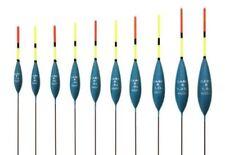 Drennan Carp 6 Pole Fishing Float  set/4  sz0.5/0.6/0.8/1 grams carbon stem