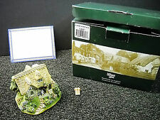 Lilliput Lane Candy Cottage Sp. Ed. Sp. Event 2000 W/ Deeds L2327 Needs Repair