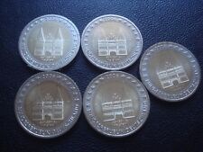Germany 2 euro coin 2006 UNC all mintmarks ADFGJ Schleswig - Holstein Holstentor
