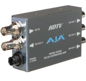 AJA HD5DA-R0 HD/SD SDI Distribution Amplifier.