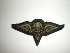 US ARMY PARACHUTE RIGGER WINGS PATCH - SUBDUED