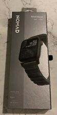 NEW Nomad Stainless Steel Band Strap for Apple Watch 5 4 3 2 42mm / 44mm - Black