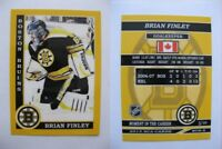 2015 SCA Brian Finley Boston Bruins goalie never issued produced #d/10 rare
