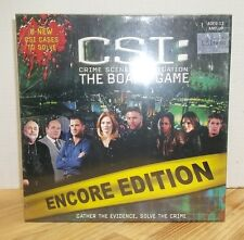 Csi: Crime Scene Investigation The Board Game Encore Edition New Unopened 2006