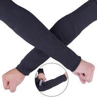 1pair fil d'acier coupe preuve bras manchon garde bracer protecteur de braOP