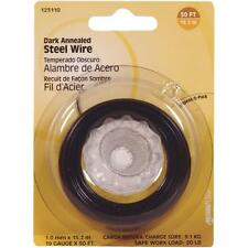 100 Pk Hillman 19 Ga X 50' Dark Annealed Steel General-Purpose Wire 123110