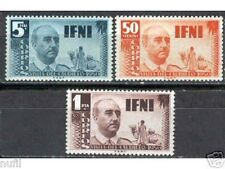 Spain IFNI Edifil # 73/75 ** MNH Set. General Franco
