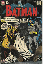 Batman #212 1969 VG+ DC Comics
