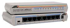 10-Pk - Allied Telesyn AT-MR815T 8 Port Mini Hub UTP 10Base-T MDI X Twisted Pair