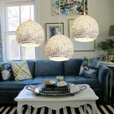 Silver Pendant Light Modern Ceiling Lights Home Lamp Kitchen Chandelier Lighting