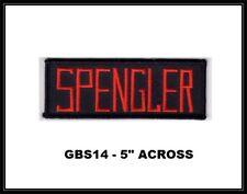 SPENGLER GHOSTBUSTERS NAMETAPE PATCH - GBS14